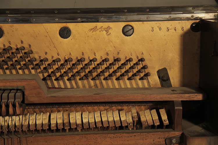 Bord piano serial number