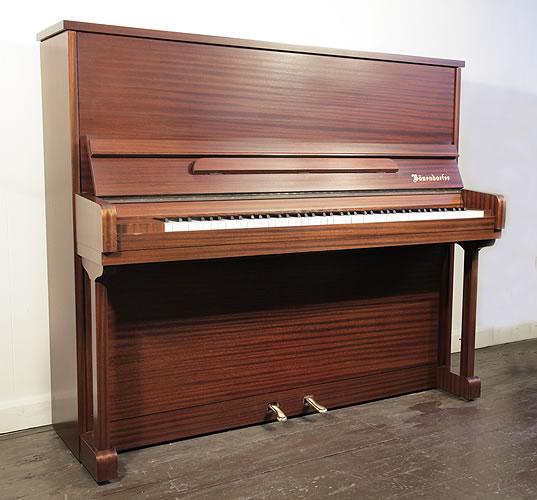 贝森朵夫(Bosendorfer)立式钢琴,产于1985年,桃花心木外壳,钢琴有88个琴键和2个踏板,价格包含翻新