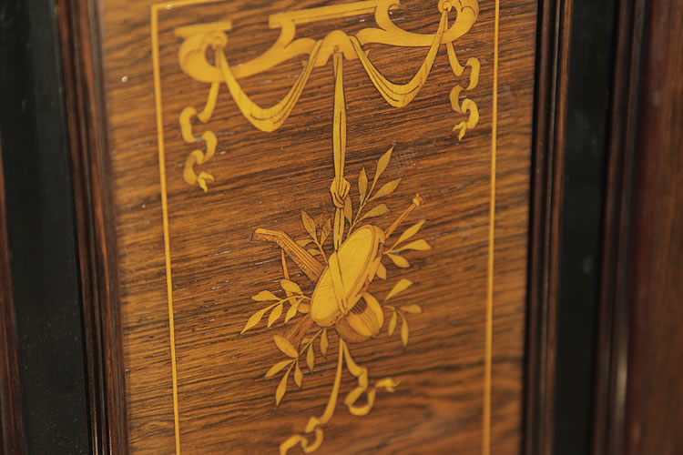 Broadwood inlaid front panel detail