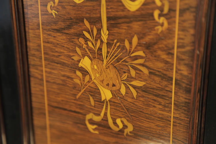 Broadwood  inlay detail