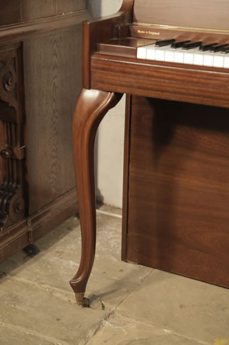 Danemann Console Upright Piano With A Mahogany Case And