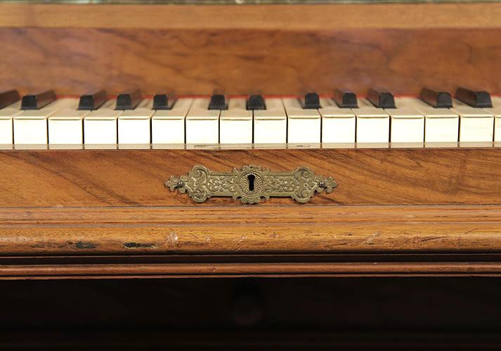 Ehret brass key escutcheon