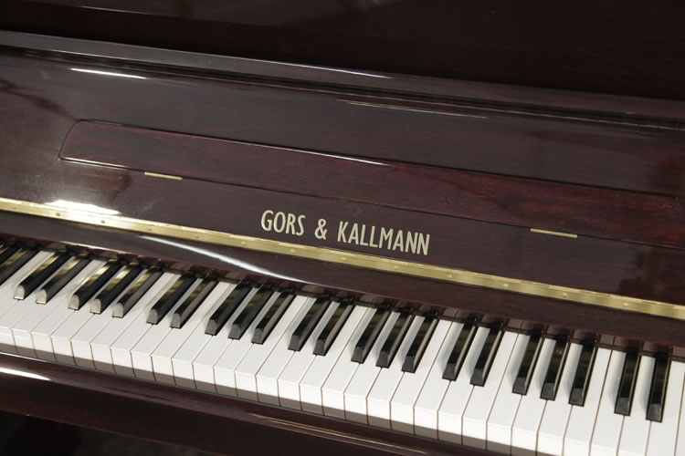 Gors Kallmann Upright Piano for sale.