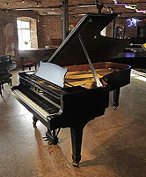 Pre-owned Steinway Model C Grand Piano For Sale with a Black Case