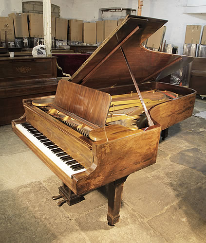 A modernised, 1877, Steinway & Sons Model D Concert Grand Piano For Sale with a Rosewood Case