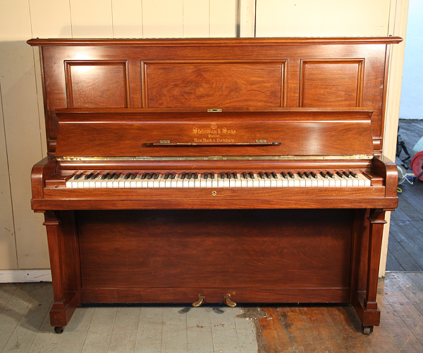 Steinway Vertegrand Piano For Sale with a Rosewood Case and QuietTime GT-2 SYstem