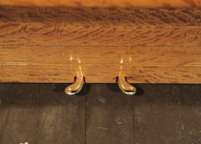 Steinway piano pedals