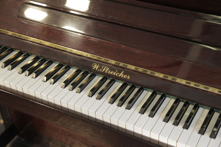 Streicher Upright Piano for sale.