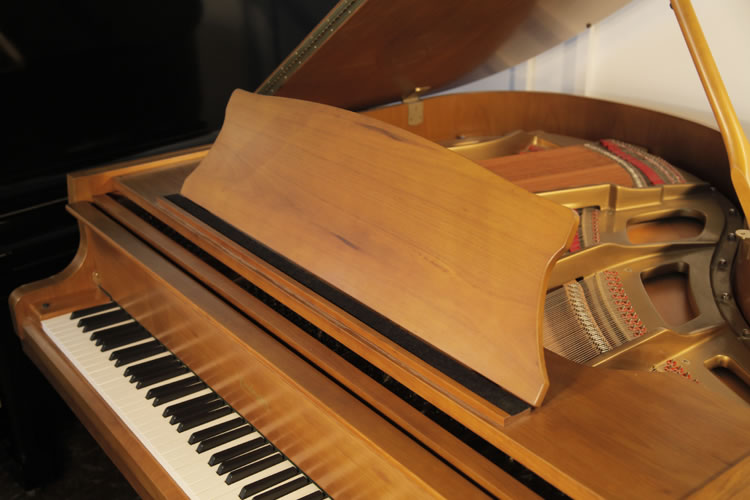 Carlmann Baby Grand Piano For Sale With A Walnut Caseand