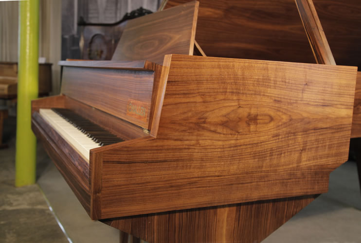 Challen Baby Grand Piano for sale. We are looking for Steinway pianos any age or condition.
