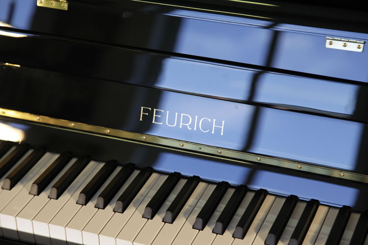 Brand New Feurich Model 115 Upright Piano for sale.
