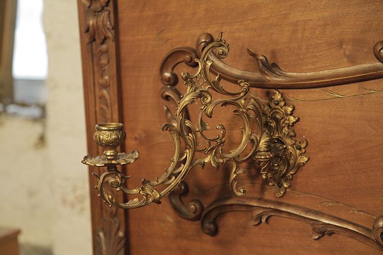 Lamberger & Gloss ornate  brass candlesticks