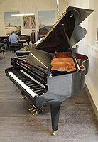 A 2002, Schimmel GP169 Konzert grand piano with a black case and brass fittings