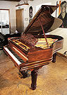 Piano for sale. A 1900, Steinway Model A Grand piano for sale with an exquisite, rosewood case, filgree music desk and fluted, barrel legs