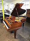 Piano for sale. A 1906, Steinway Model O grand piano for sale with a polished, rosewood case and spade legs
