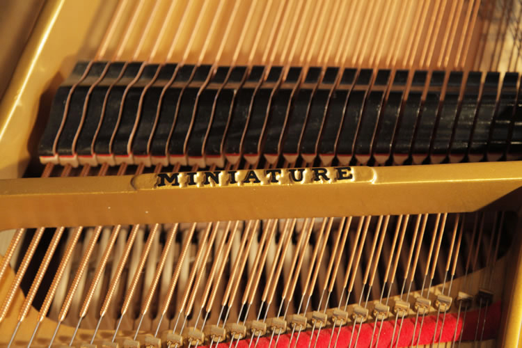 Steinway model O miniature grand. We are looking for Steinway pianos any age or condition.