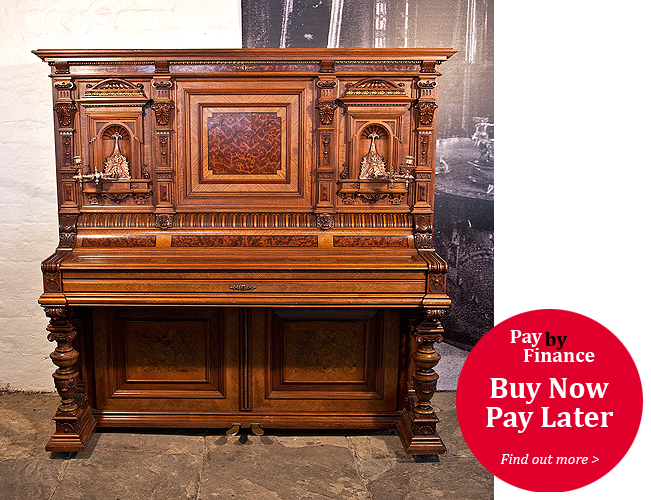 German upright Piano for sale.