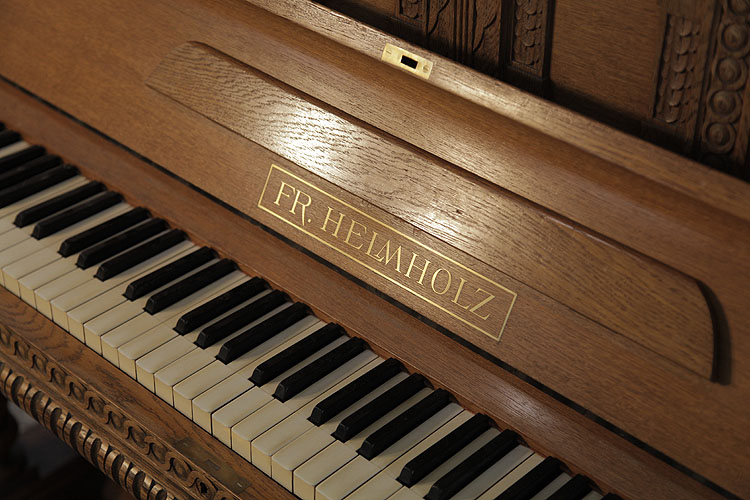 Helmholz upright Piano for sale.