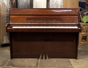 Piano for sale. Kawai Upright Piano For Sale with a Mahogany Case and Brass Fittings
