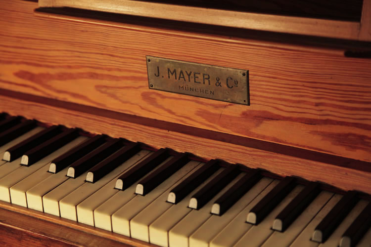 Mayer upright Piano for sale.