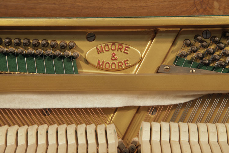 Moore and Moore Upright Piano for sale.