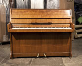 Piano for sale. Moore and Moore Upright Piano For Sale with a Walnut Case and Brass Fittings