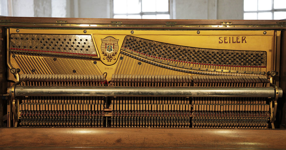 Seiler upright Piano for sale.