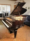Piano for sale. A 1909, Steinway Model A grand piano for sale with a rosewood case, geometric cut-out music desk and spade legs