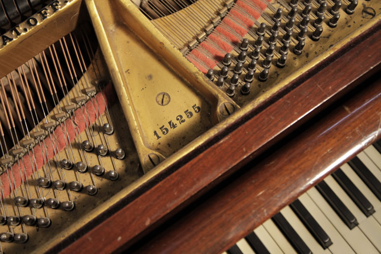 Steinway piano serial number. We are looking for Steinway pianos any age or condition.