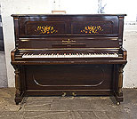 Piano for sale. Pre-owned,  1896, Steinway upright piano with a rosewood case and floral inlaid panels