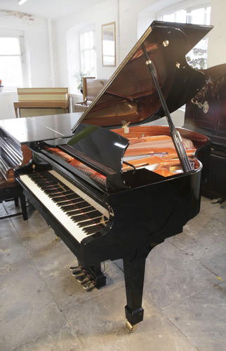 Wendl and Lung Model 161 grand Piano for sale with a black case.