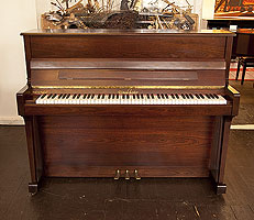 A Woodchester Upright Piano For Sale with a Mahogany Case and Brass Fittings