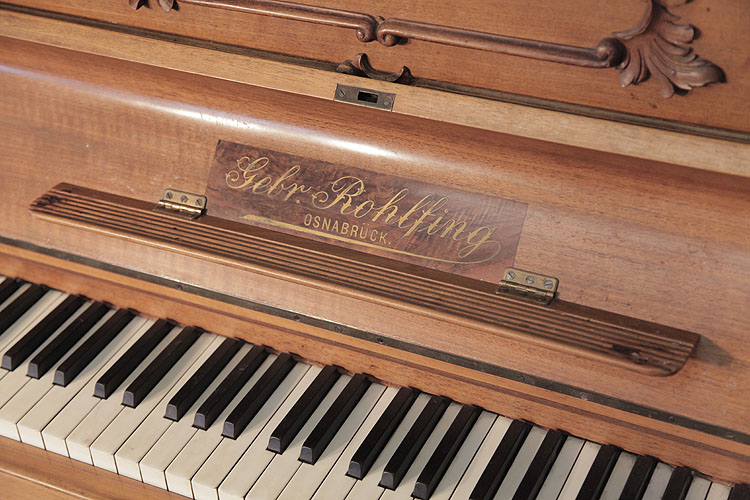 Rohlfing upright Piano for sale.