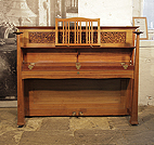 Piano for sale. Arts and Crafts style, , Bechstein upright piano with a walnut case