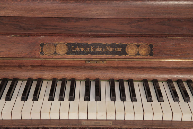 Gebruder Knake upright Piano for sale.