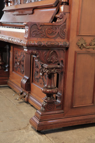 Hupfer Upright Piano for sale.