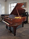 Piano for sale. A 1908, Steinway Model A grand piano for sale with a pommele mahogany case, filigree music desk and spade legs.