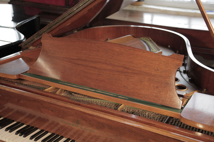 Steinway  model O piano music desk. We are looking for Steinway pianos any age or condition.