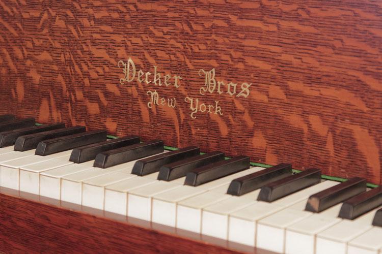 Decker Bros Grand Piano for sale.