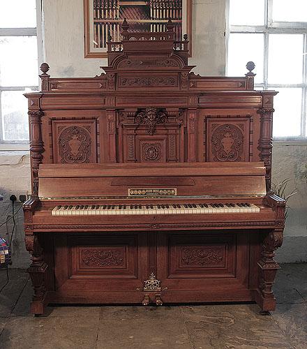 Julius Deesz upright Piano for sale.