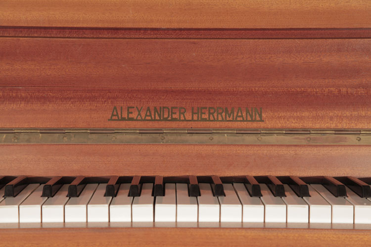 Alexander Herrmann Upright Piano for sale.