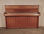 Piano for sale. Alexander Herrmann upright piano with a satin, mahogany case