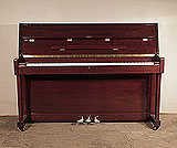 Piano for sale. A Richmann UP108 upright piano for sale with a mahogany case and polyester finish