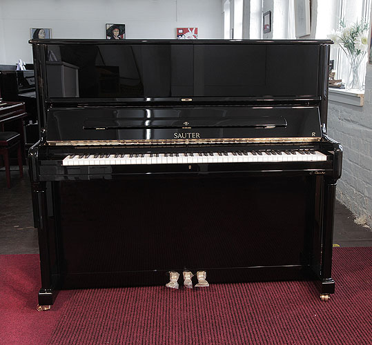 New, Sauter Meisterklasse upright Piano for sale.