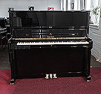 Piano for sale. Brand new, Sauter Meisterklasse upright piano for sale with a polished, black case. Piano achieves concert quality sound featuring a grand quality resonating body, double repetition action and sostenuto pedal. 100% made in Germany