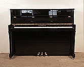 Piano for sale. A Steinmayer Upright Piano For Sale with a Black Case and Brass Fittings