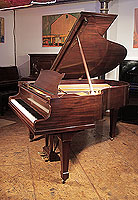 A 1930, Steinway Model M Grand Piano For Sale with a Polished, Mahogany Case and Spade Legs