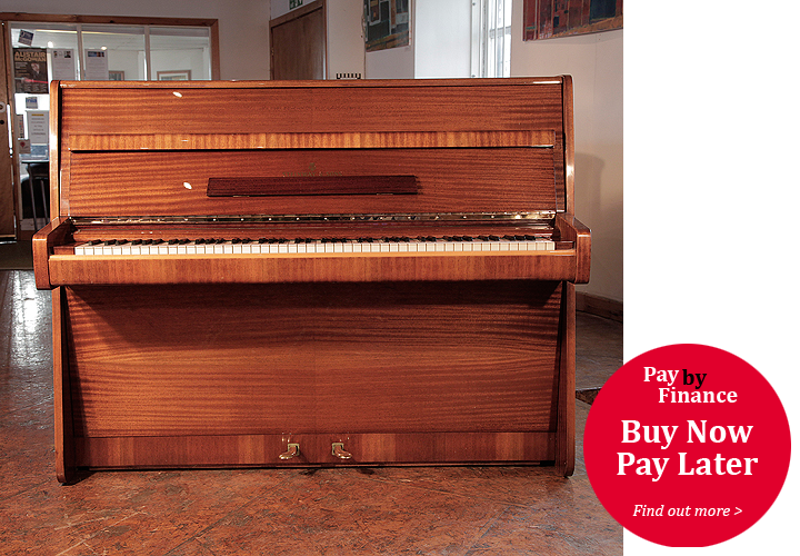 A 1975,   Steinway Model Z Upright Piano For Sale with a   Mahogany Case.