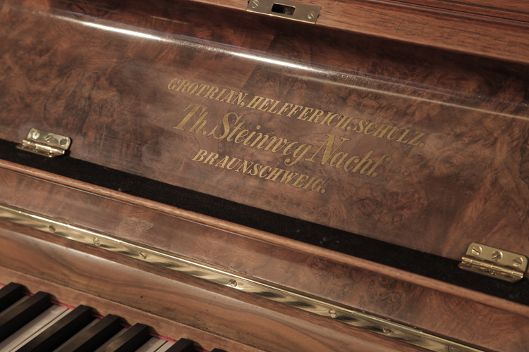 Steinweg Nachf upright Piano for sale.
