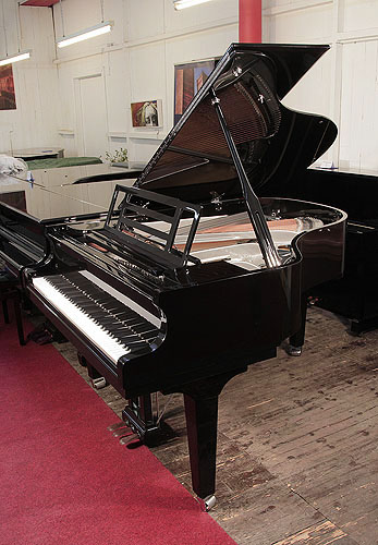 Feurich Model 179 Dynamic II grand Piano for sale with a black case.